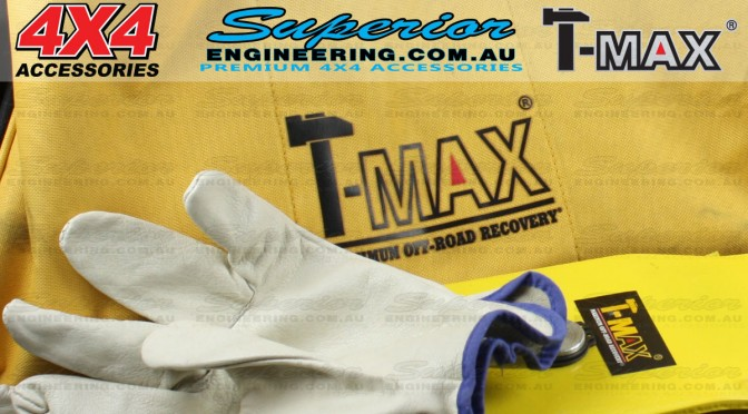 T-Max 8 Piece Vehicle Recovery Kit
