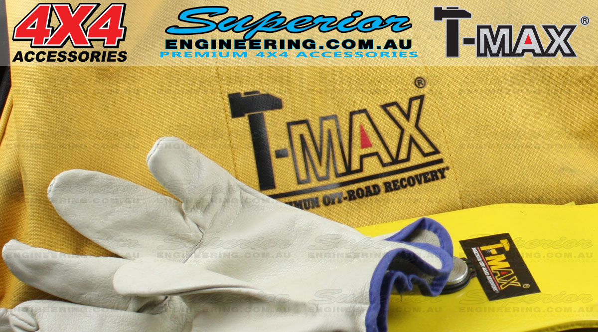 T-Max 8 Piece Vehicle Recovery Kit close up feature image