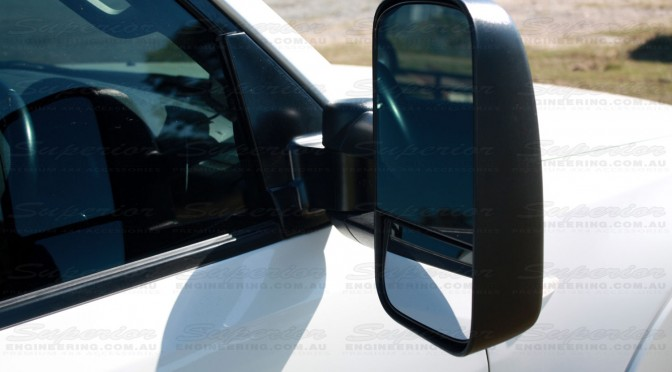 Mitsubishi Pajero Clearview Towing Mirror