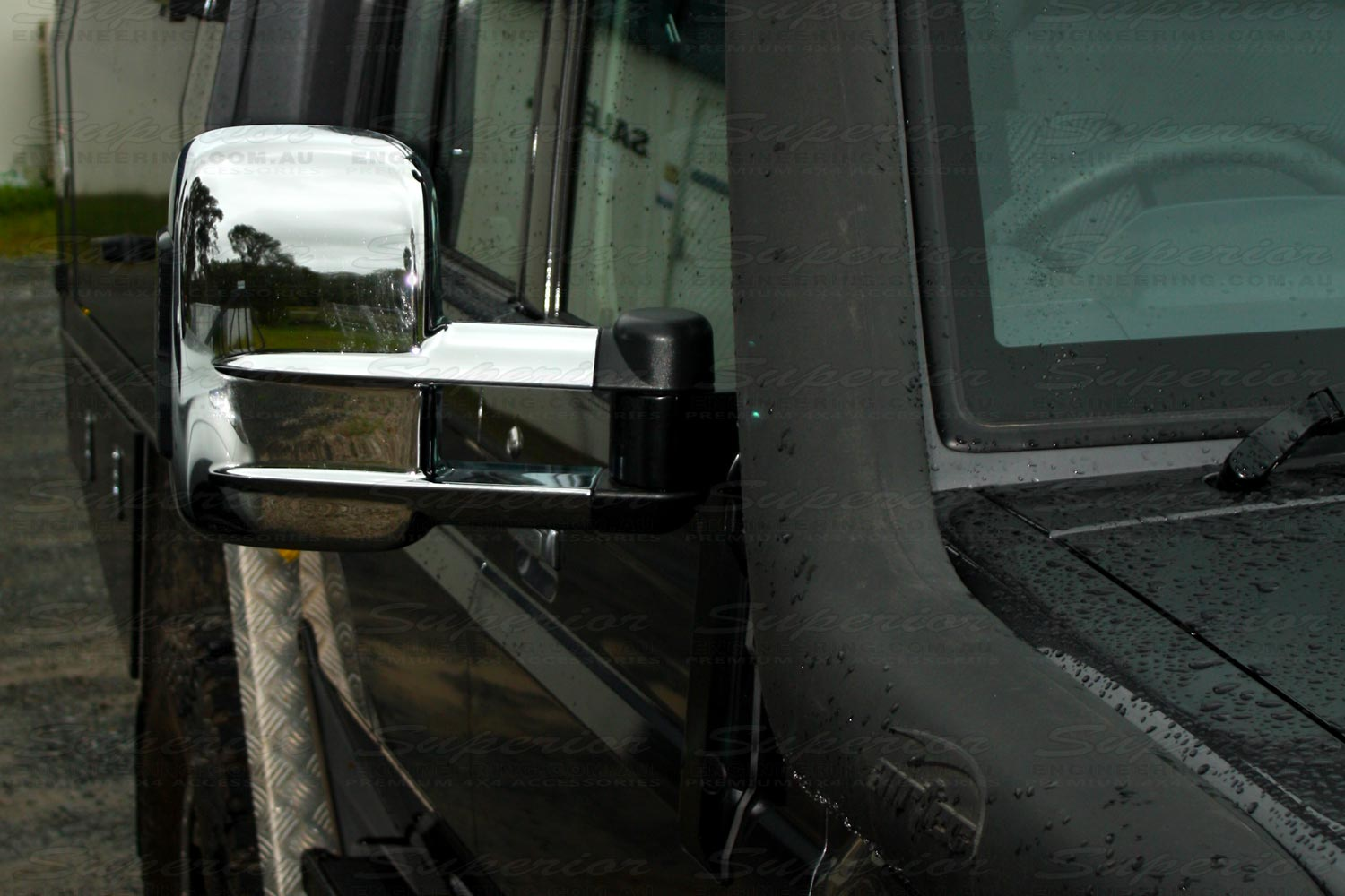 Clearview Towing Mirrors 79 Series Toyota Landcruiser