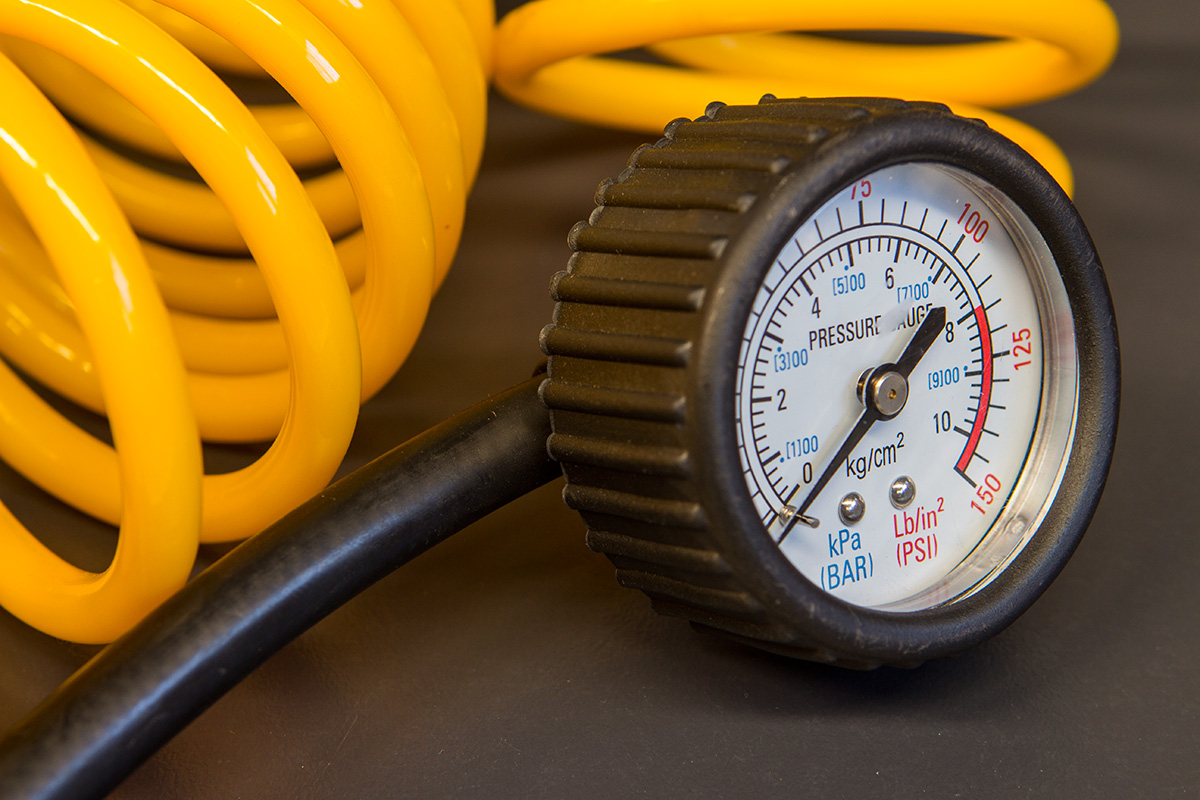Ironman 4x4 FlowMax Pro Air Compressor Pressure Guage