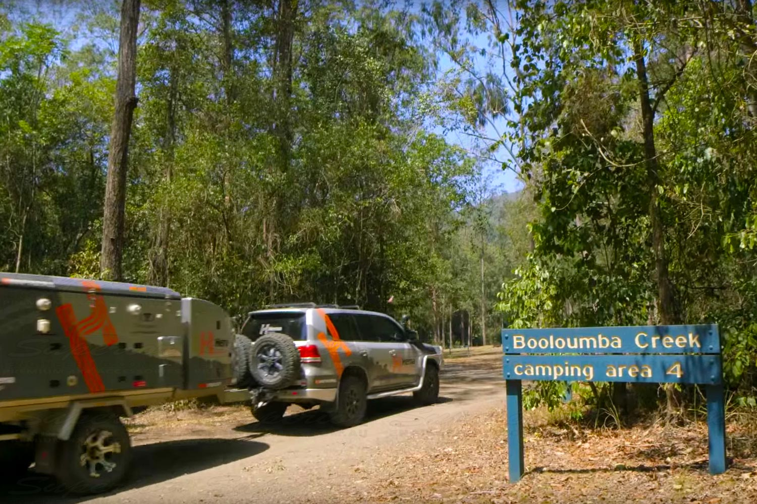 The Hema Navigator makes finding a camping spot very easy