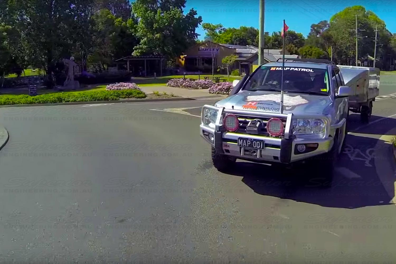 The latest Australia wide street mapping, with turn by turn navigation