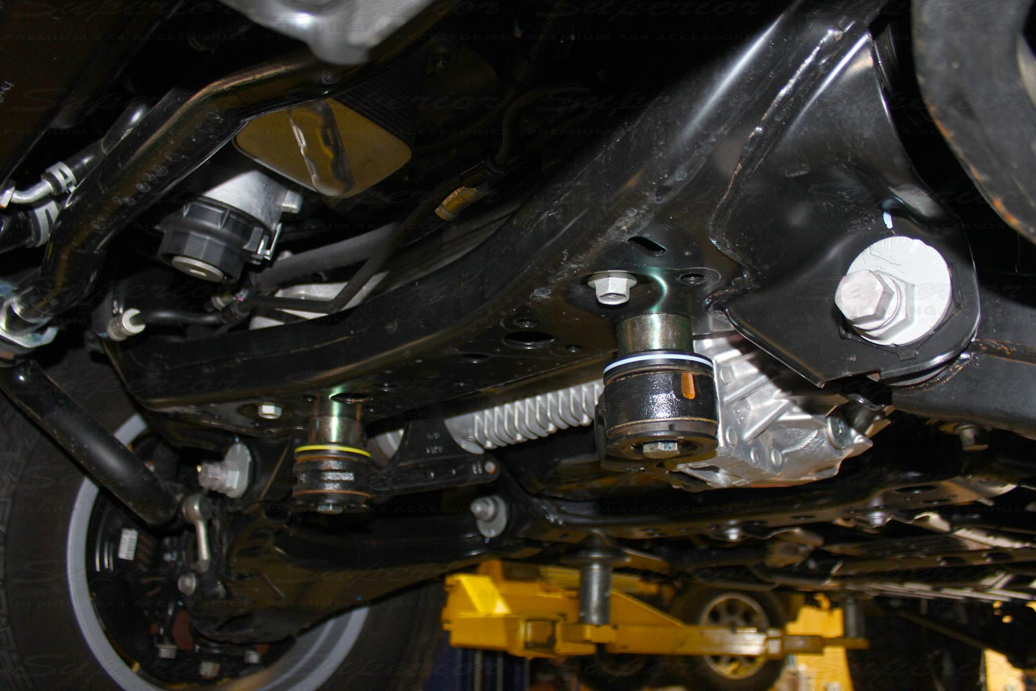 Superior Diff Drop Kit fitted to a 200 Series
