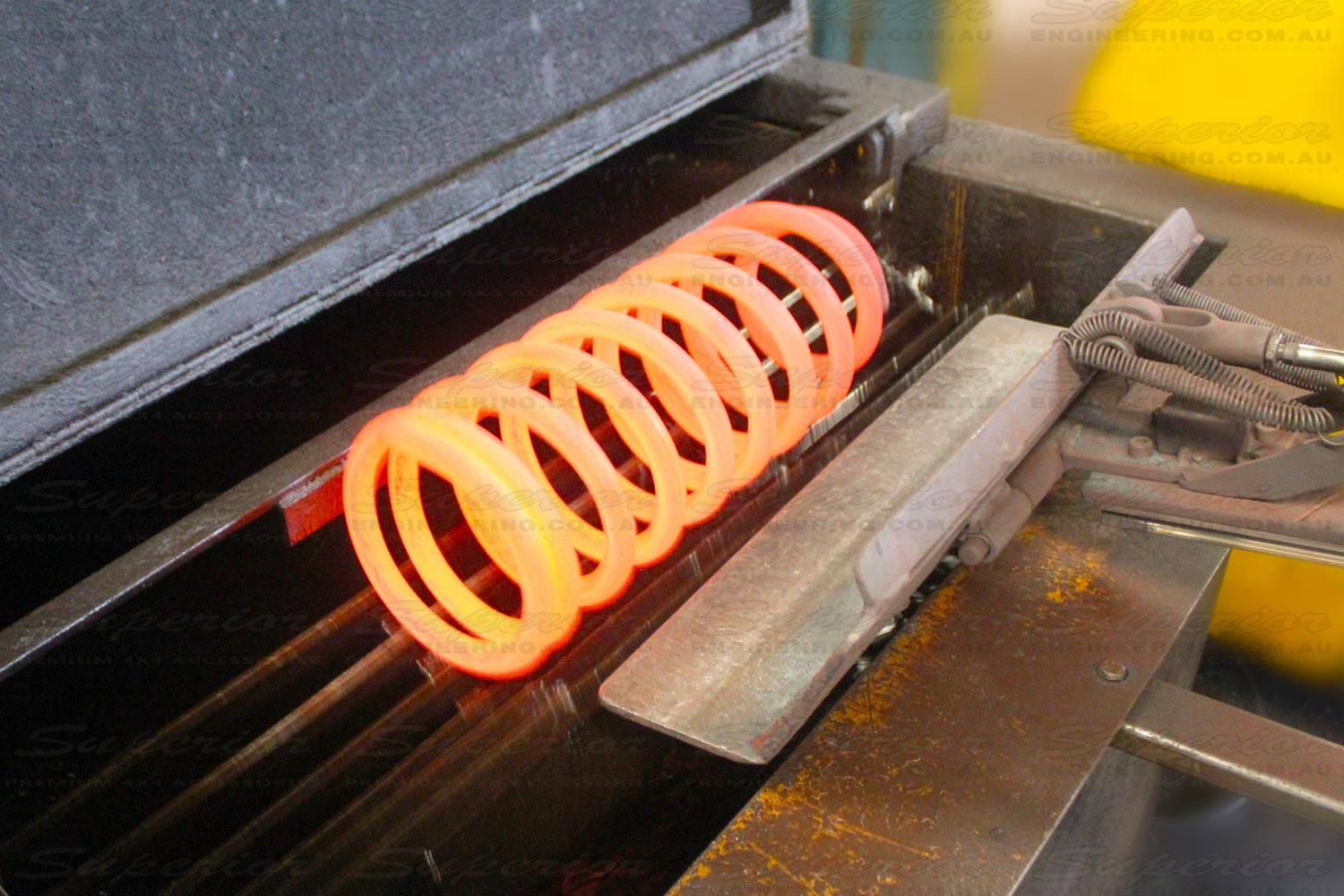 The Superior coils are designed to fit directly into the original vehicles mounting points