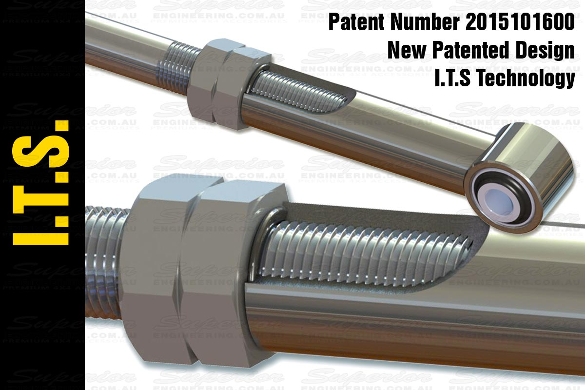 Exclusive ITS Seal Technology on the internal thread and linkages